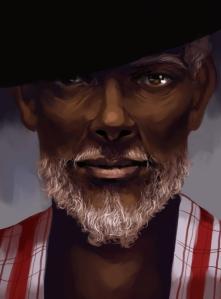 Papa Legba by Larissa P Clause.