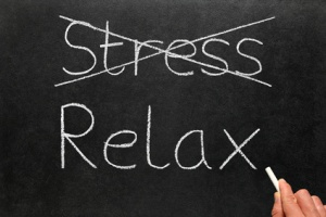 How do you actually relax? And how do you just cross stress off the to-do list? Isn't it always, like, there? (Source unknown.)